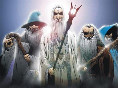 o contexto dos magos azuis na terra média valinor