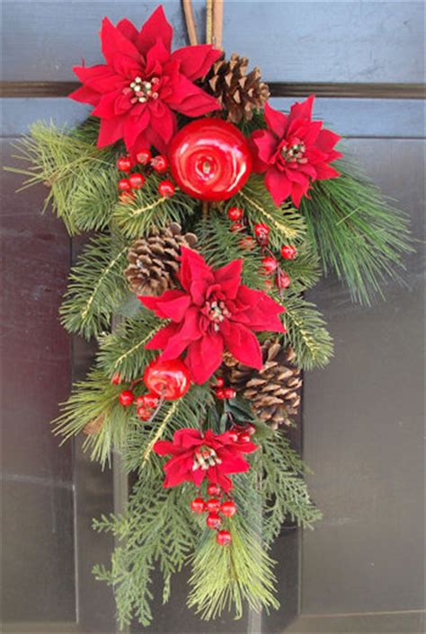 christmas swags  door decorations dot  women