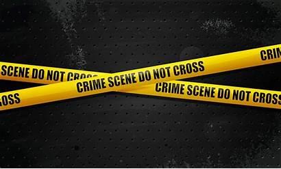Police Crime Line Scene Background Desktop Wallpapers