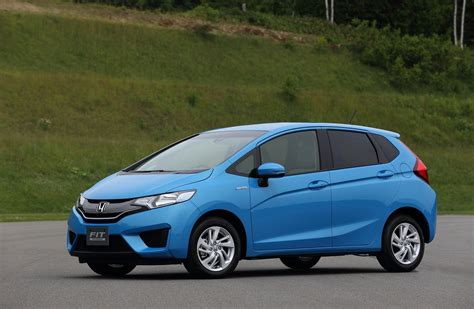 honda fit appears hybrid model