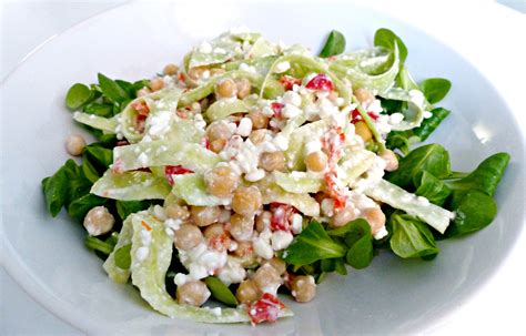Recepten magere salades