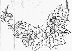 Diseños flores para pintar en tela - Imagui
