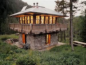 Fire, Tower, Cabin, Plans, House, Plans, With, Lookout, Towers