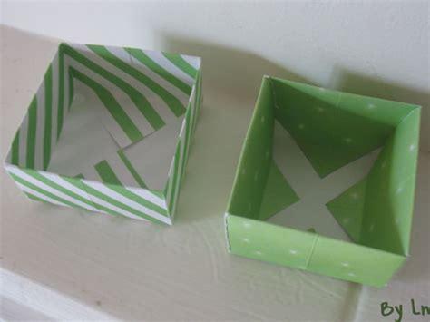 boite rangement papier des tutos de boites en papier origami