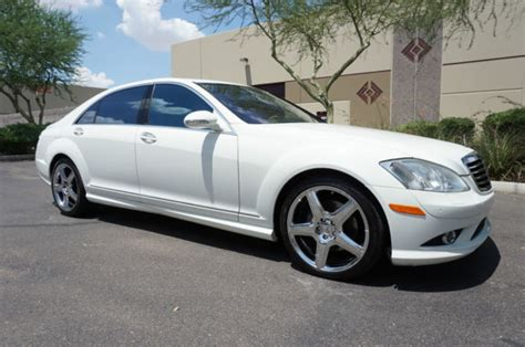 Search over 4,200 listings to find the best local deals. 2009 White S550 AMG Sport Pkg S Class 550 Sedan like 2007 2008 2010 2011 2012