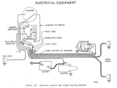 Wiring Diagram Farmall M Tractor by Farmall M Tractor Wiring Diagram Wiring Forums