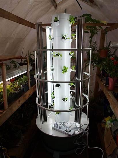Tower Garden Gardening Vertical Urban Grow Lights