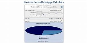 Home Amortization Table First And Second Mortgage Calculator Mls Mortgage