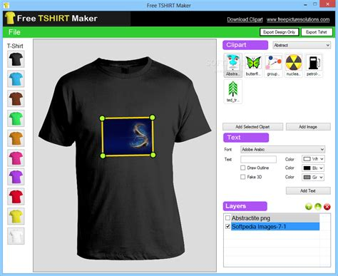 software program aplikasi custom free tshirt maker
