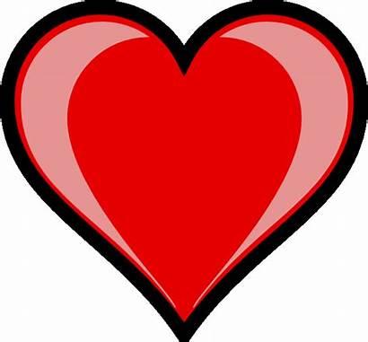 Clipart Heart Hearts Clip Cliparts Football Organ