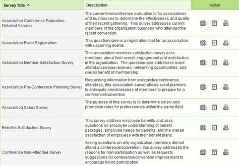 online survey bank sle survey templates sle questionnaire
