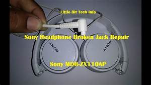 Sony Broken Headphone Jack Repair