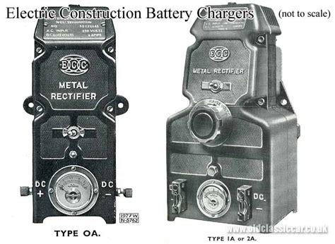 Battery Charger For Pre-war 6v & 12v Cars