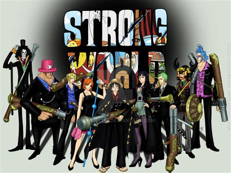 One Piece Strong World By Yukidechu On Deviantart