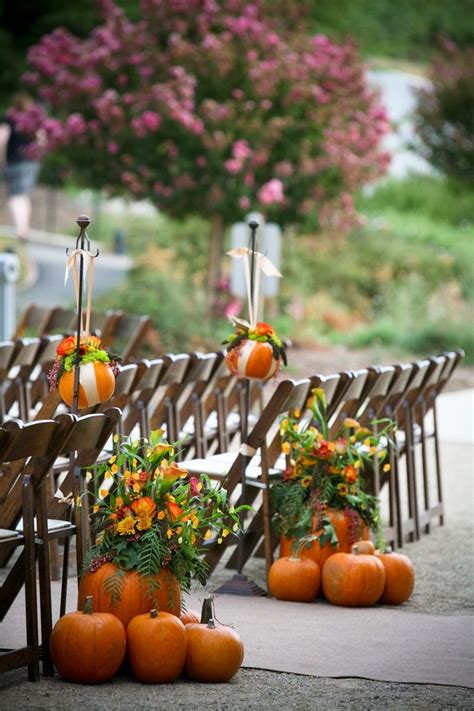 Pumpkin Inspired Fall Wedding Inspiration Inspirations