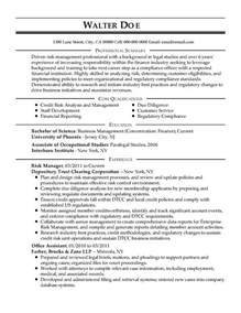 risk management resume summary professional compliance officer templates to showcase your talent myperfectresume