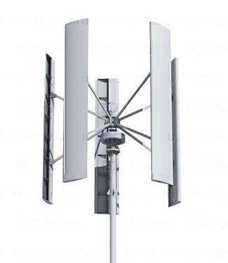 Ветрогенератор sokol air vertical 3 квт центр энергосберегающих технологий