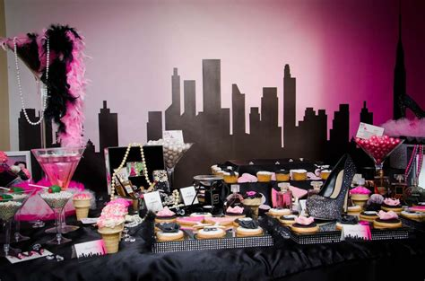 chanel sex   city birthday party ideas photo