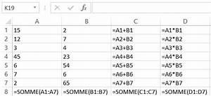 Formule Si Excel : comment afficher toutes les formules d 39 un tableau dans excel ~ Medecine-chirurgie-esthetiques.com Avis de Voitures
