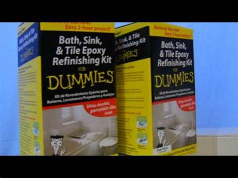 bath sink and tile refinishing kit for dummies diy reviews