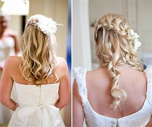 Inspiring Bridal Hairstyle For Thin Hairs