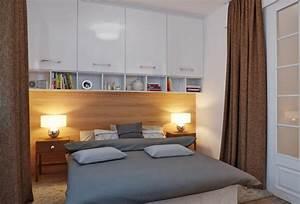 Schränke Für Kleine Schlafzimmer : 30 kleine schlafzimmer die modern und kreativ gestaltet sind ~ Bigdaddyawards.com Haus und Dekorationen