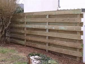 Palissade De Jardin : palissade en bois ~ Melissatoandfro.com Idées de Décoration
