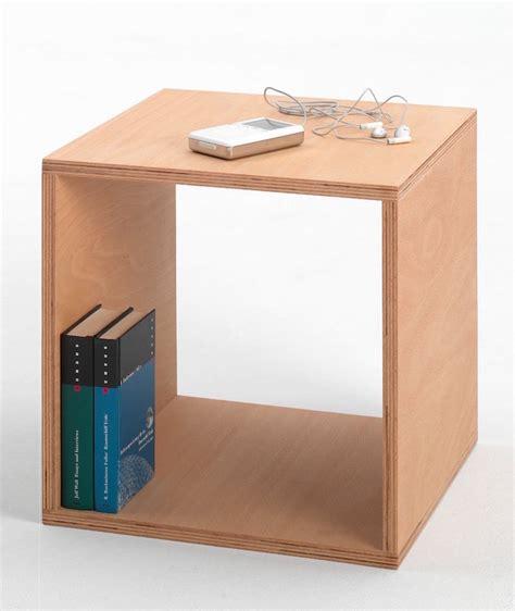 table de nuit cube table de nuit design 15 chevets modernes pour la chambre