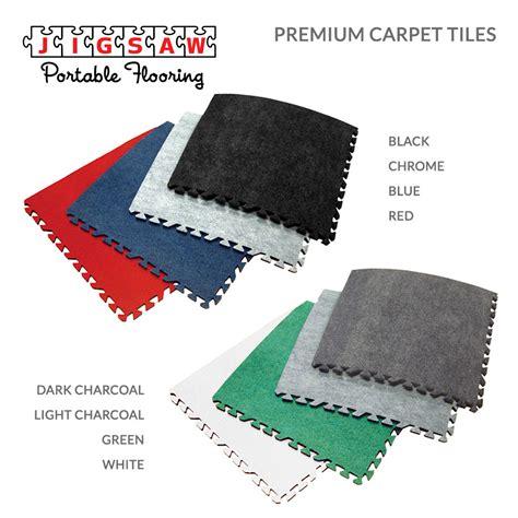 carpet tiles faux wood tiles trade show flooring