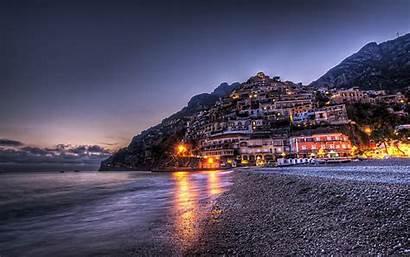 Italy Positano Beaches Campania