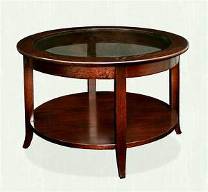 vintage round coffee table for classic in wood trend With classic wooden coffee tables