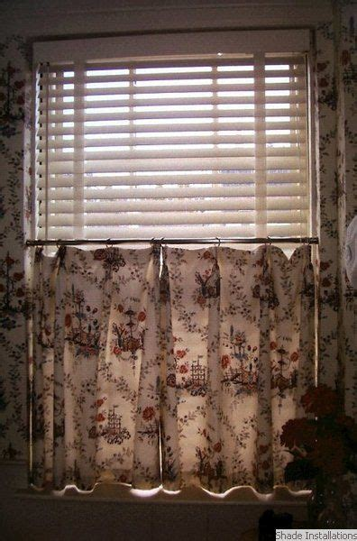 white wooden blind  cafe curtain wooden blinds