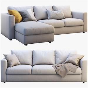Ikea Vimle Erfahrung : ikea vimle 2 options 3d model turbosquid 1371695 ~ Watch28wear.com Haus und Dekorationen