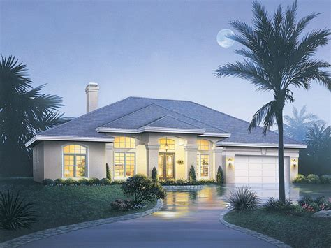 Rose Way Florida Style Home Plan 048d-0008