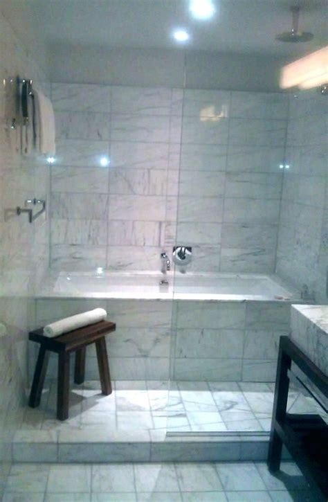 shower bathtub combo idea enclosed tub  bath design