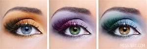 Astuce De Maquillage Pour Les Yeux Marrons : se maquiller selon la couleur des yeux et le cercle chromatique miss vay blogue lifestyle ~ Melissatoandfro.com Idées de Décoration
