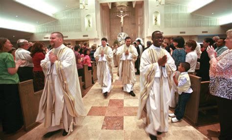 diocese hosts largest ordination decades arkansas catholic