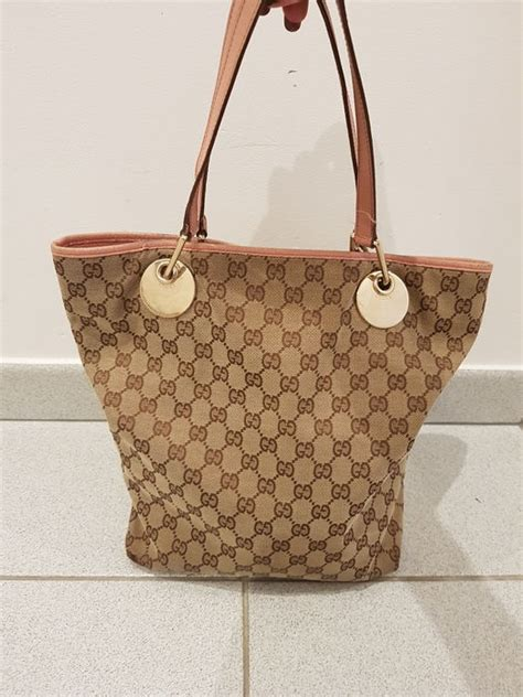 gucci eclipse monogram tote bag  minimum price