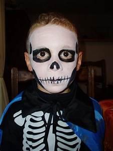 Maquillage Halloween Garçon : maquillage halloween simple homme maquillage halloween facile et rapide cotillonsetdeguisements ~ Melissatoandfro.com Idées de Décoration