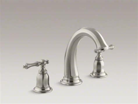 kohler kelston r deck mount bath faucet trim