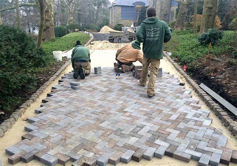 rydal driveway pavers installation garrett churchill
