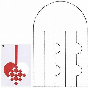flettehjerter sadan fletter du julehjerter masser af With woven heart basket template