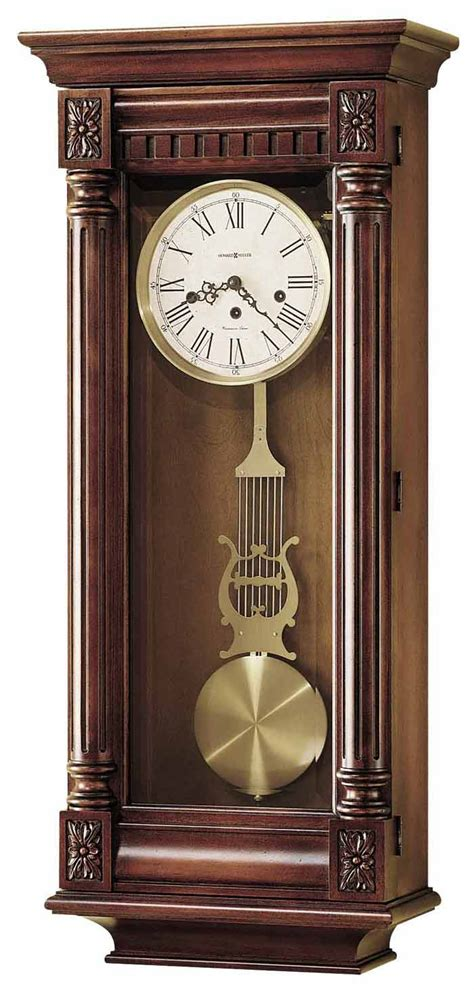howard miller  haven   keywound wall clock