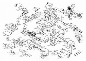 Dixon Ztr 3304  1999  Parts Diagram For Chassis