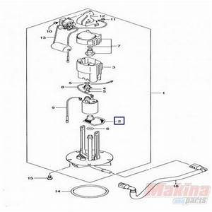 1542005h00 Strainer Fuel Pump Suzuki Dl