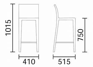 Dimension Chaise Standard : tabouret de bar dimension mobilier design d coration d 39 int rieur ~ Melissatoandfro.com Idées de Décoration