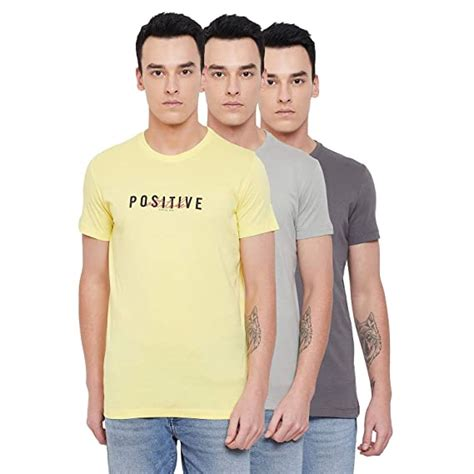 However, in some cases, the limits could be lower. Buy Status Quo Mens Black Yellow Grey Slim Fit Combo Tshirts (Pack of 3) at Amazon.in