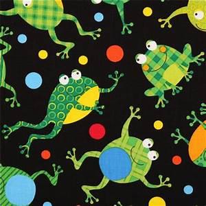 Schwarzer Stoff Kaufen : schwarzer gepunkteter frosch tier stoff timeless treasures tierstoffe stoffe kawaii shop ~ Markanthonyermac.com Haus und Dekorationen