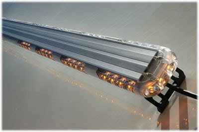 72w led light bar low profile design