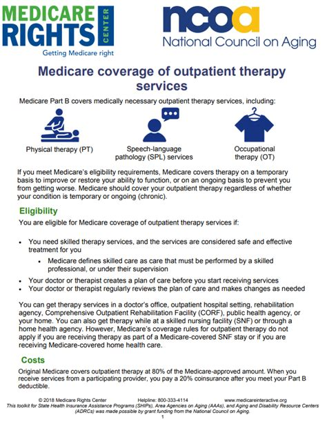 medicare therapy health outpatient benefit answers care differs qualifications coverage